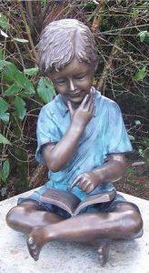 kinderbeelden van brons