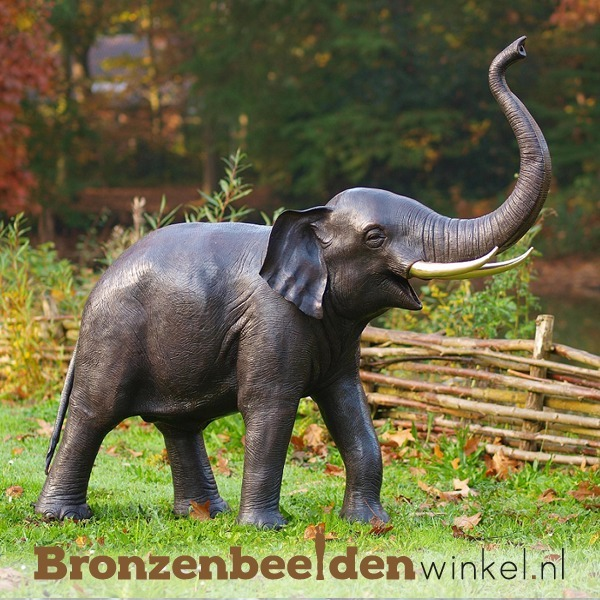 Bronzen olifant, beelden olifanten