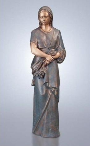Maria beeld van brons, Madonna beeld