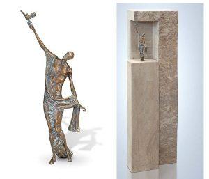 sculptuur kopen van brons