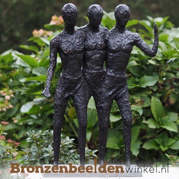 tuinbeeld de drie vrienden