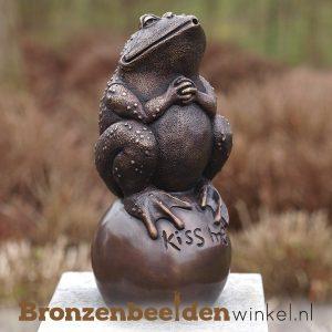 Bronzen kikkers - kikker beeld van brons