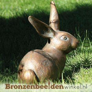 Bronzen konijnen en hazen beelden