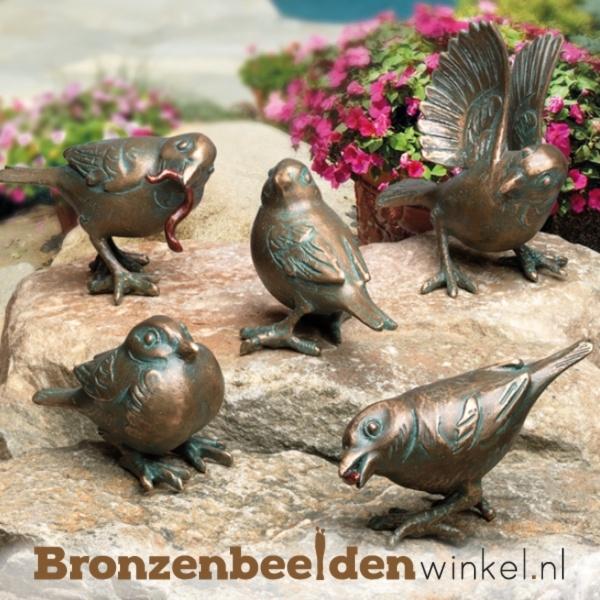 bronzen vogeltjes
