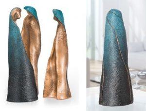 figuratief beeld van brons