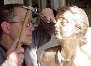 zandgieting bronzen beelden