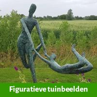Figuratieve beelden voor in de tuin