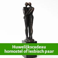 Huwelijkscadeau voor homostel of lesbisch paar