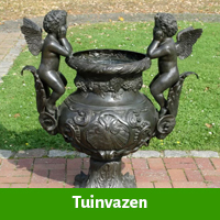 Tuinvazen van brons